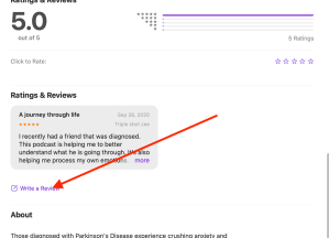 Ratings and Reviews for the podcast Parkinson's and Me.